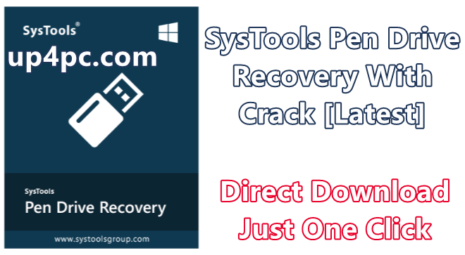 SysTools Pen Drive Recovery 8.0.0.0 With Crack [Latest]
