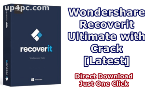 Wondershare Recoverit Ultimate 8.3.0.12 With Crack Download [Latest] 1