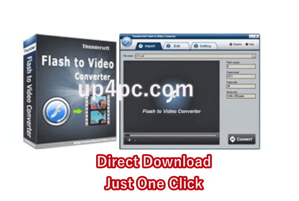 ThunderSoft Flash to Video Converter 3.5.0.0 with Crack [Latest]