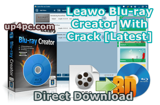 Leawo Blu-ray Creator 8.2.1.0 With Crack [Latest]
