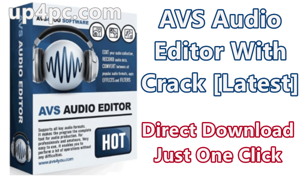 AVS Audio Editor 9.1.2.540 With Crack [Latest]
