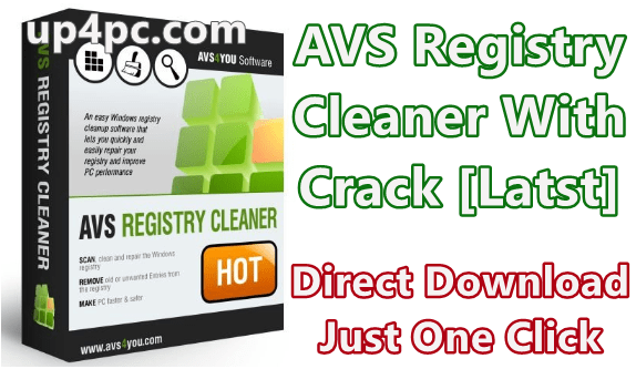 AVS Registry Cleaner 4.1.4.290 Wuth Crack [Latest]