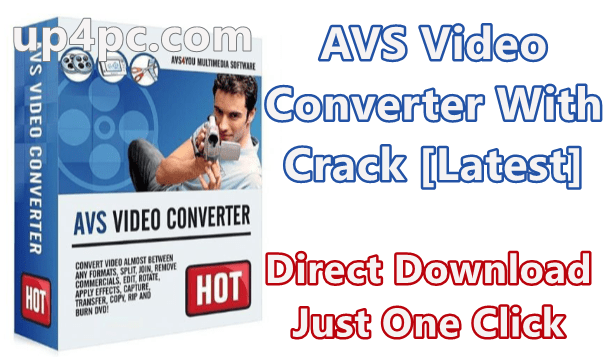AVS Video Converter 12.0.2.652 With Crack [Latest]