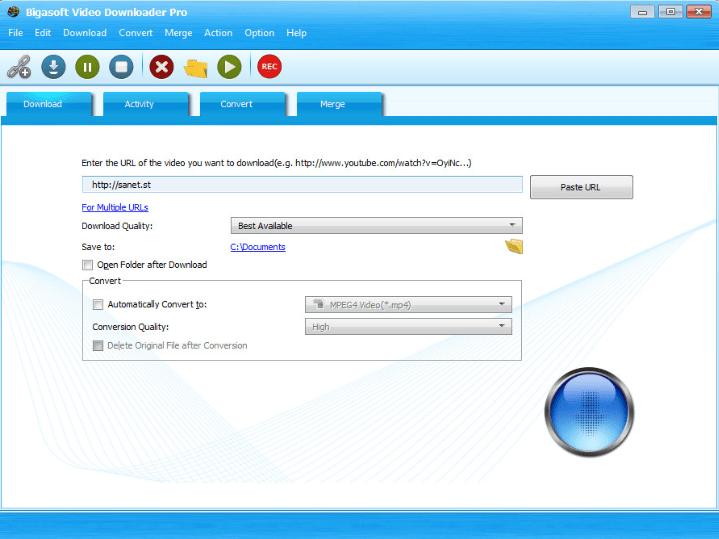 Bigasoft Video Downloader Pro Full Version Key
