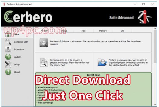 Cerbero Suite Advanced 3.4.0 With Crack [Latest]