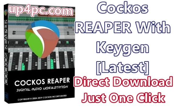 Cockos Reaper 5.987 With Keygen [Latest]