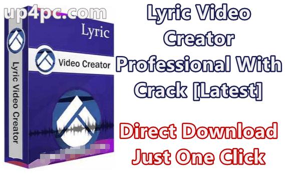 Lyric Video Creator Professional