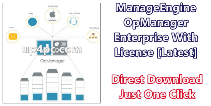 Manageengine Opmanager Enterprise 12.4.100 With License [Latest]