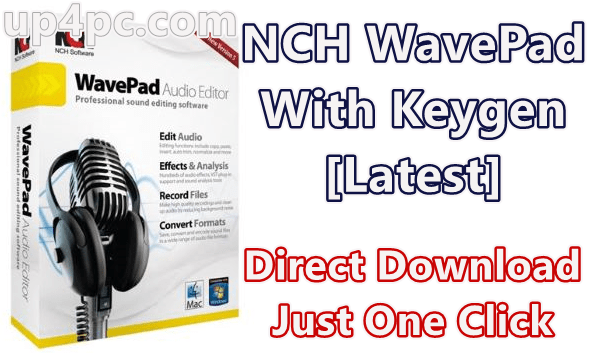 NCH WavePad 9.63 Beta With Keygen [Latest]