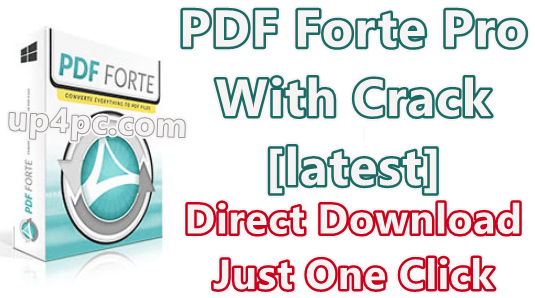 PDF Forte Pro 3.3.2.1 With Crack [Latest]