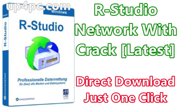R-Studio 8.12 Build 175573 Network With Crack [Latest]