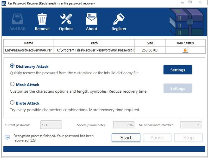 Rar Password Recover Full Version