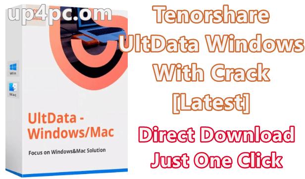 Tenorshare UltData Windows 7.1.1.23 With Crack [Latest]