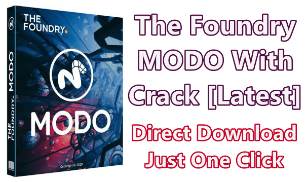 The Foundry MODO 13.2v1 With Crack [Latest]