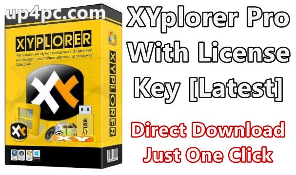 XYplorer Pro 20.50.0300 With License Key [Latest]