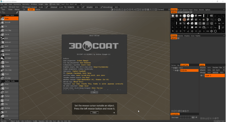 3D Coat 4.9.15 With Crack [Latest]