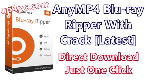 AnyMP4 Blu-ray Ripper 7.2.36 With Crack [Latest]