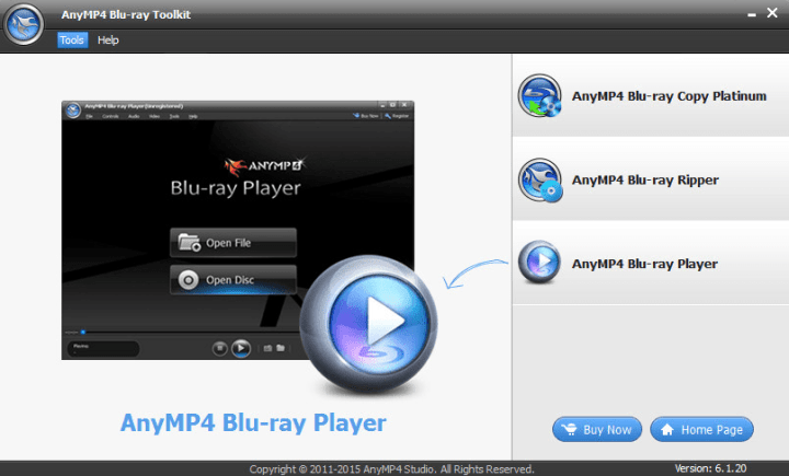 AnyMP4 Blu-ray Toolkit 6.1.30