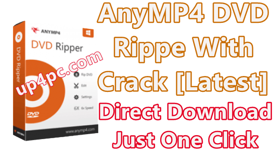 AnyMP4 DVD Ripper 7.2.28 With Crack [Latest]