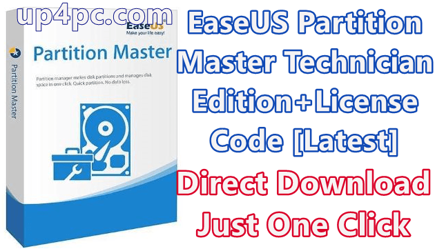Easeus Partition Master 13.8 Technician Edition With License Code [Latest]