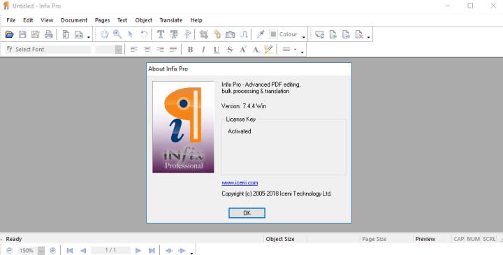 Infix PDF Editor Pro 7.4.4 Portable