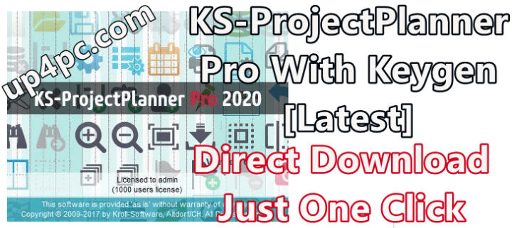 KS-ProjectPlanner Pro 2020 v6.0.3 With Keygen [Latest]