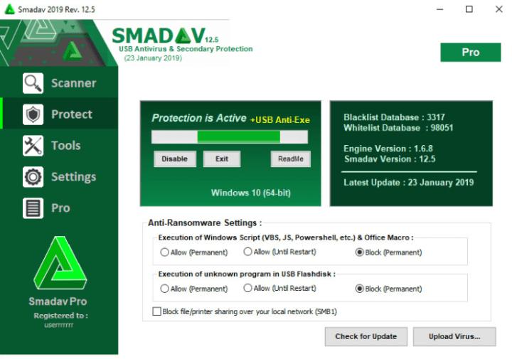 Smadav Pro Full Version Serial Key