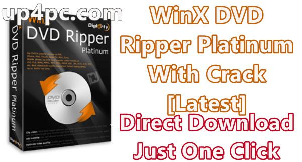 WinX DVD Ripper Platinum 8.20.1.238 With Crack [Latest]