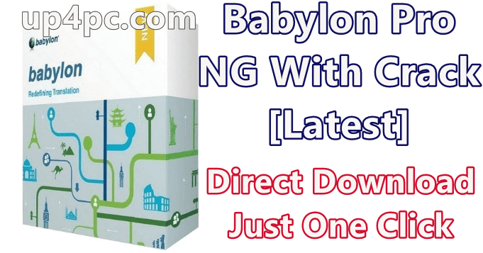Babylon Pro NG 11.0.1.2 With Crack [Latest] 1