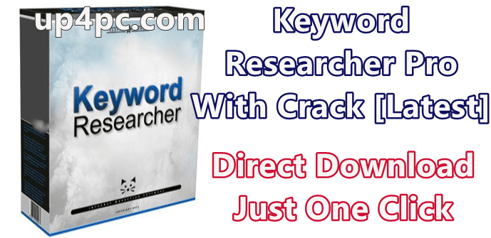 Keyword Researcher Pro 13.124 With Crack [Latest]