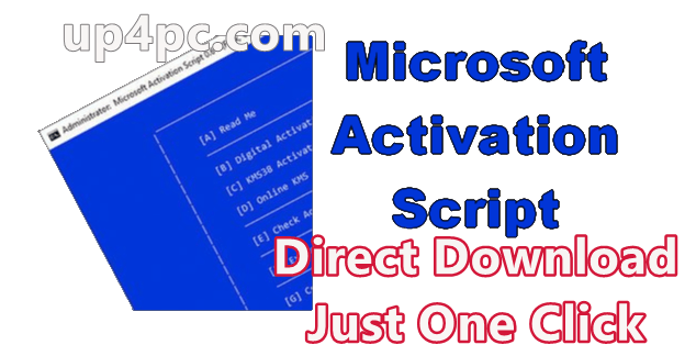 Microsoft Activation Scripts 1.2 Free Download [Latest]