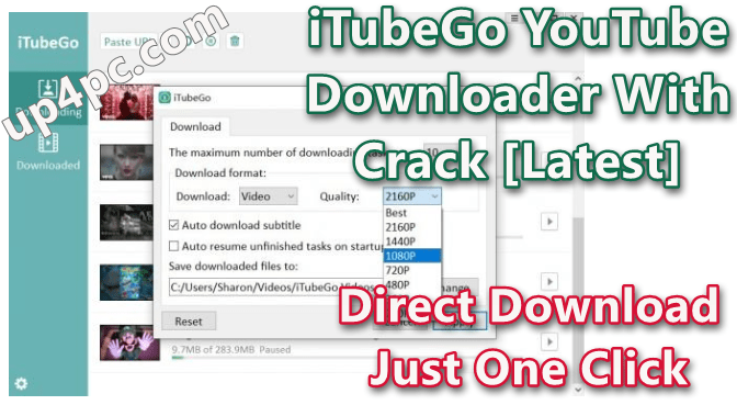 iTubeGo YouTube Downloader 1.1.1 With Crack [Latest]
