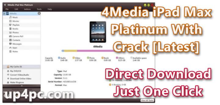 4Media iPad Max Platinum 5.7.30 Build 20200221 With Crack [Latest]