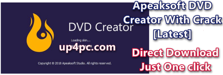 Apeaksoft DVD Creator 1.0.30 With Crack [Latest]