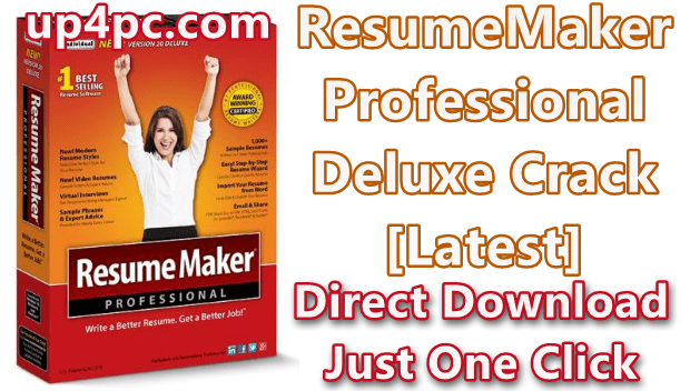 ResumeMaker Professional Deluxe 20.1.1.166 With Crack [Latest]