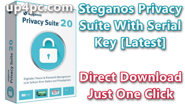 Steganos Privacy Suite 20.0.10 Revision 12581 With Serial Key [Latest]