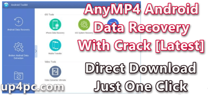 AnyMP4 Android Data Recovery 2.0.16 With Crack [Latest]