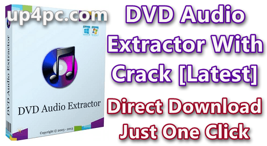 DVD Audio Extractor 8.1.1 With Crack [Latest]