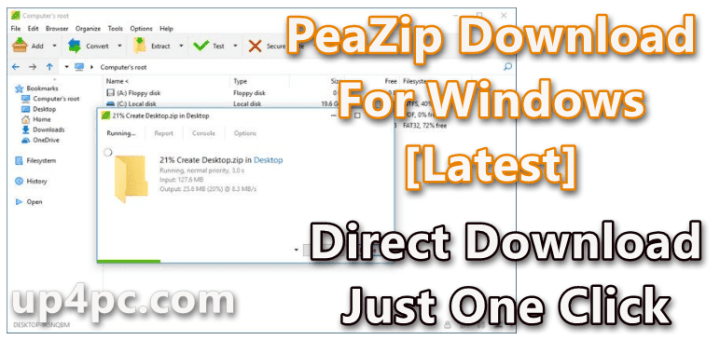 PeaZip 7.1.1 Download For Windows 10 [Latest]