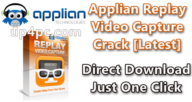 Applian Replay Video Capture 9.1.1 With Crack [Latest]