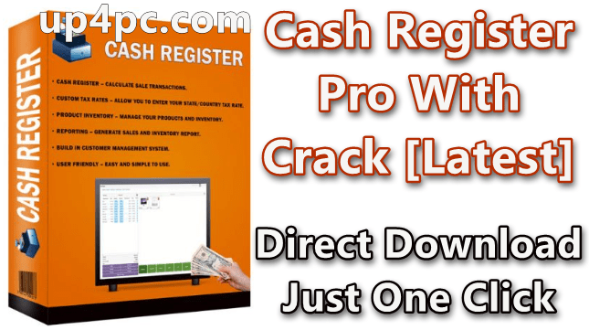 Cash Register Pro Keygen 2.0.5.5 With Crack [Latest]