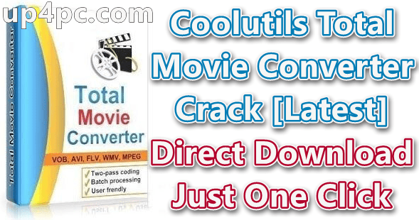 Coolutils Total Movie Converter 4.1.0.37 With Crack Download [Latest]