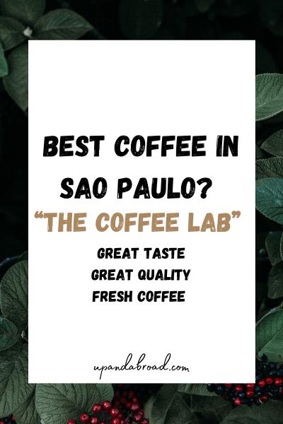 The Best Coffee in São Paulo