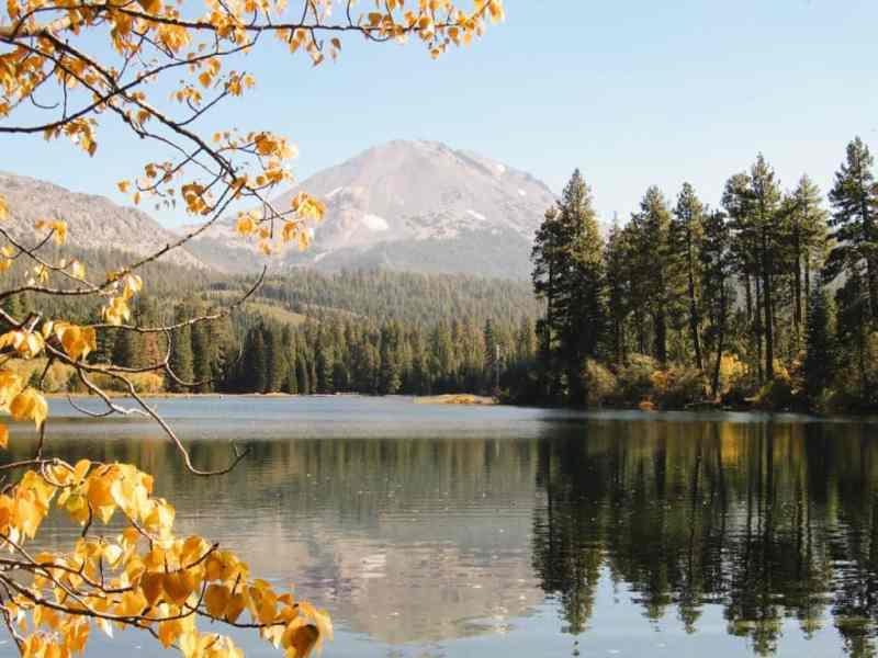 camping lassen national park