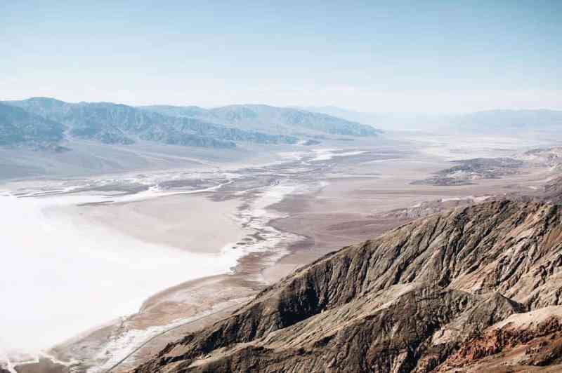 Things to See in Death Valley - Dante's View
