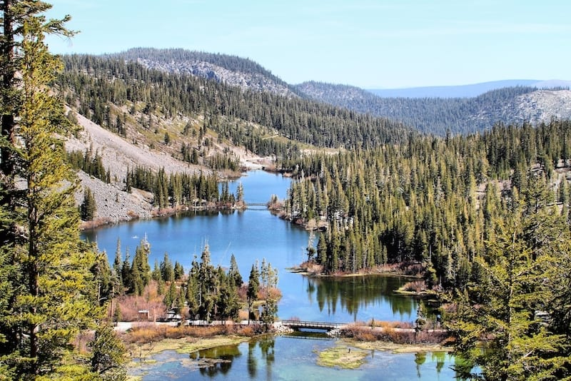 Camping in Mammoth Lakes
