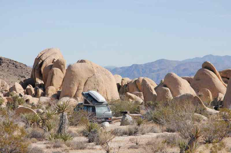 White Tank campground joshua tree