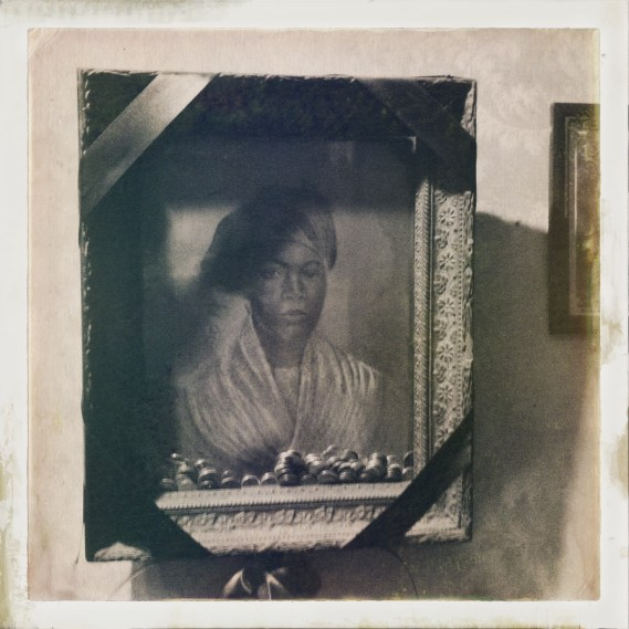 Portrait in the Voodoo Museum.