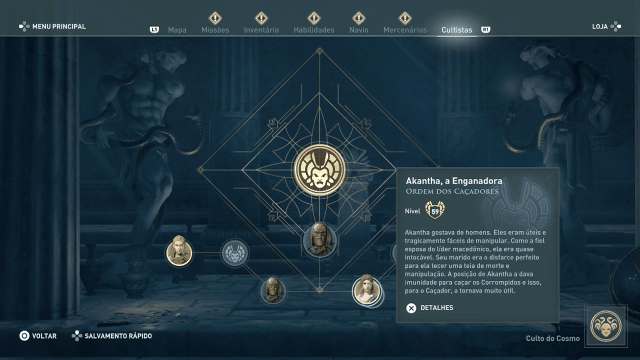 Assassin's Creed Odyssey - Legado Akantha, a Enganadora 2