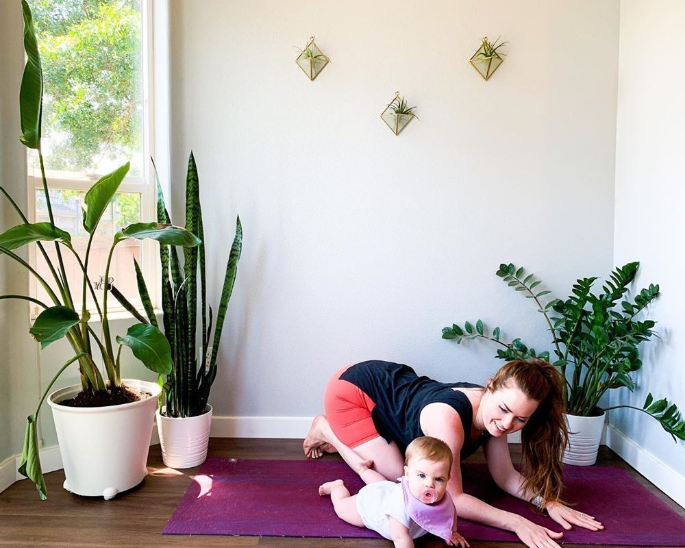 yoga to lose weight after C section delivery